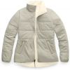 The North Face Women ' S Merriewood Reversible Jacket - Dove Grey / Vintage White