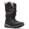 Columbia Women ' S Heavenly Omni - Heat Lace Up Boot - Black / Kettle