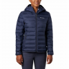 Columbia Women ' S Lake 22 Down Hooded Jacket - Nocturnal