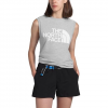 The North Face Womens ' Half Dome Muscle Tank - Light Grey