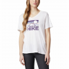 Columbia Women ' S Mount Rose Relaxed T - Shirt - White Heather