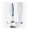 Red Lion Precision Performance Basketball Otc Socks - White / Royal