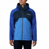 Columbia Men ' S Rain Scape Jacket - Collegiate Navy / Azul / Azure Blue