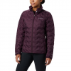 Columbia Women ' S Delta Ridge Down Jacket - Black Cherry