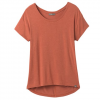 Prana W Foundation Slouch Top - Liqueur Heather
