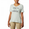 Columbia Women ' S Mount Rose Relaxed T - Shirt - Cool Green Heather