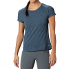 Mountain Hardwear Women ' S Mighty Stripe Short Sleeve Tee - 492zinc