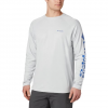 Columbia Men ' S Terminal Deflector Long Sleeve Shirt - Cool Grey