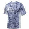 Huk Men ' S Icon Camo Short Sleeve - Current Erie