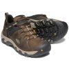 Keen Men ' S Steens Waterproof Shoe - Canteen / Brindle