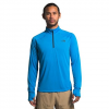 The North Face Men ' S Essential 1 / 4 Zip Pullover - Clear Lake Blue