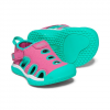 Keen Youth Toddler Stingray Sandal - Very Berry / Peacock Green
