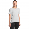 The North Face Women ' S Workout Short - Sleeve - Light Grey