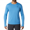 Mountain Hardwear Men ' S Wicked Tech Long Sleeve T - Shirt - Deep Lake