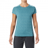 Mountain Hardwear Women ' S Mighty Stripe Short Sleeve Tee - Washed Turquoise