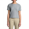 The North Face Women ' S Short - Sleeve Emerine Top - High Rise Grey