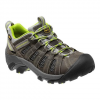 Keen Women ' S Voyageur Hiking Shoe - Grey / Lime Green