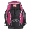 Rawlings Youth Players Backpack - Neon Pink