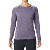 Mountain Hardwear Women ' S Mighty Stripe Long Sleeve Tee - Dusted Sky