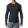 Mountain Hardwear Men ' S Wicked Tech Long Sleeve T - Shirt - Dark Storm