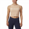 Columbia W Windgates Cropped Tank - Black