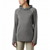Columbia Women ' S Pfg Tamiami Heather Knit - City Grey