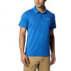 Columbia Men ' S Tech Trail Polo Shirt - Pine Green