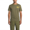 The North Face Men ' S Short Sleeve Dome Climb Tee - Burnt Olive