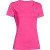Under Armour Women ' S Ua Tech V - Neck Shirt - 100white / Metslv