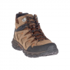 Merrell Men ' S Pulsate 2 Mid Leather Waterproof - Dark Earth