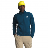 The North Face Men ' S Echo Rock Full Zip Jacket - Blue Wing Teal