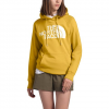 The North Face Women ' S Half Dome Pullover Hoodie - Bamboo Yellow