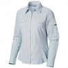 Columbia Women ' S Silver Ridge Lite Long Sleeve Shirt - 484crystalblue