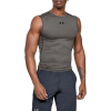 Under Armour Men ' S Heatgear Armour Sleeveless Compression Shirt - Carbon Heather