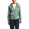 The North Face Women ' S Berkely Full Zip Hoodie - Sullivan Green