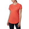 Columbia W Cades Cape S / S Tee - Bright Poppy