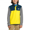 The North Face Youth Boy ' S Glacier 1 / 4 Snap Fleece - Dw9lemon