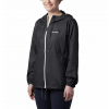 Columbia Women ' S Flash Forward Windbreaker - Nocturnal / White