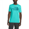 The North Face Men ' S Short Sleeve Half Dome Tri - Blend Tee - Clear Lake