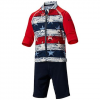 Columbia Toddler Sandy Shores Sunguard Suit - Collegiate Navy Camo