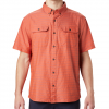 Mountain Hardwear Men ' S Crystal Valley Short Sleeve Shirt - 840dkclay