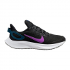 Nike Women ' S Run All Day 2 Running Shoe - Black / Vivid Purple / Valerian Blue