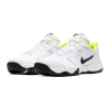 Nike Nike Men ' S Court Lite 2 Hard Court Tennis Shoe - White / Black / Volt