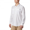 Columbia Men ' S Silver Ridge Lite Long Sleeve Shirt - 100white