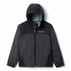 Columbia Boys Youth Glennaker Rain Jacket - Grill / Black