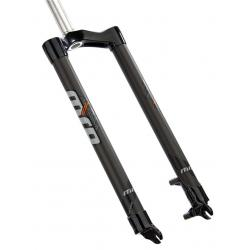 """MRP   Rock Solid Rigid Carbon Fork   Black   490mm Axle to Crown, 1-1/8"""", QR"""