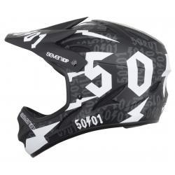 7iDP M1 50:01 Helmet 2019 Men's Size Large in Black/White