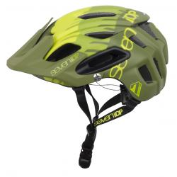 7iDP M2 Boa Tactic Helmet 2019 Men's Size Extra Small/Small in Lime/Mid/Olive Green