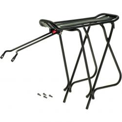 """Axiom Journey Rear Mount Rack Black, Fits 26"""", 27"""" and 700C Wheels"""