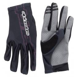 Alpinestars Stella F-Lite Bike Gloves Men's Size Small in Black Raspberry Rose
